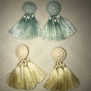 Two earrings